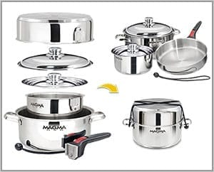 Magna Pots | 10 Must-Have Items for your RV Kitchen | www.streetswander.com