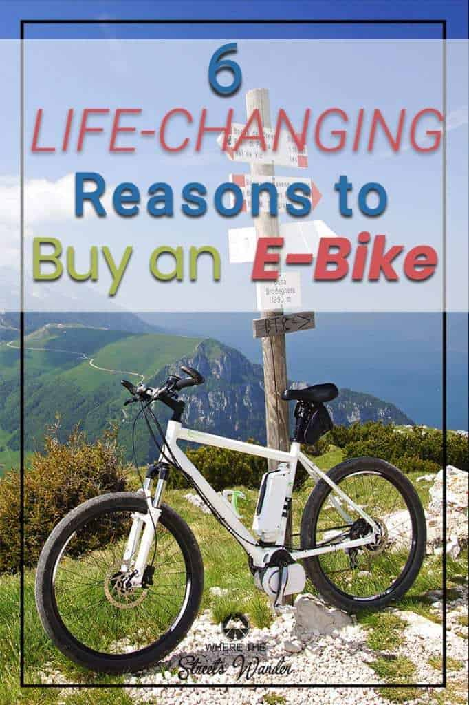 Riding an E-bike is a fun & rewarding experience. This newer technology of bicycles changes the way you ride, where you go & how you feel when you get there. Find out how this type of bicycle can change your life. #RVLiving #RVLifestyle #Ebikes