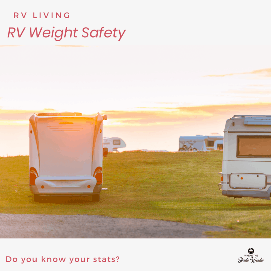 RV Weight Safety