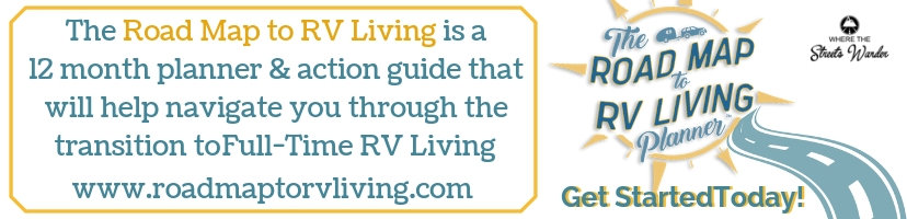 Road Map to RV Living Planner | www.roadmaptorvliving.com