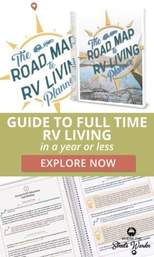 Road Map to RV Living Planner | www.streetswander.com