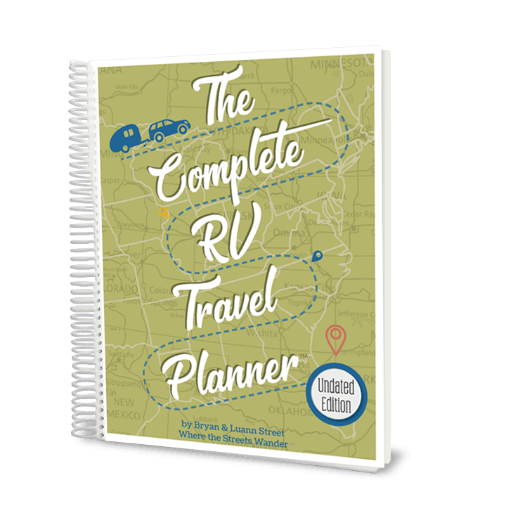 The Complete RV Travel Planner UNdated | www.streetswander.com/rv-travel-planner