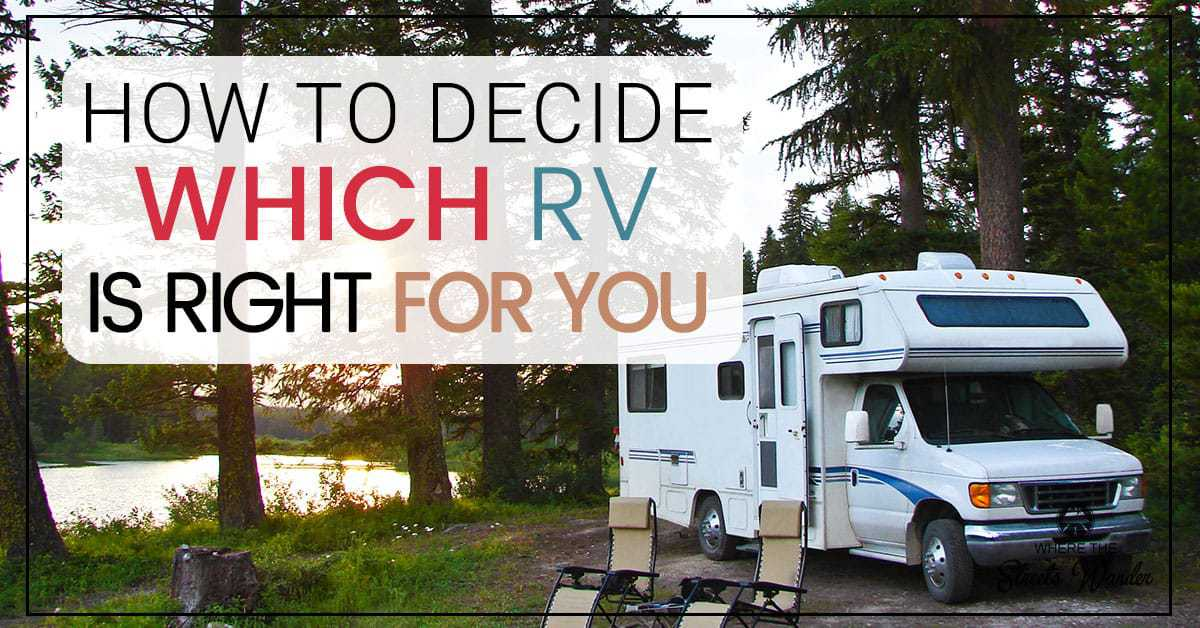 Deciding Which RV is Right For YOU | Deciding which Rv is right for you can be a fun but challenging decision. Learning to ask yourself questions will help you determine which RV is right for you. | www.streetswander.com