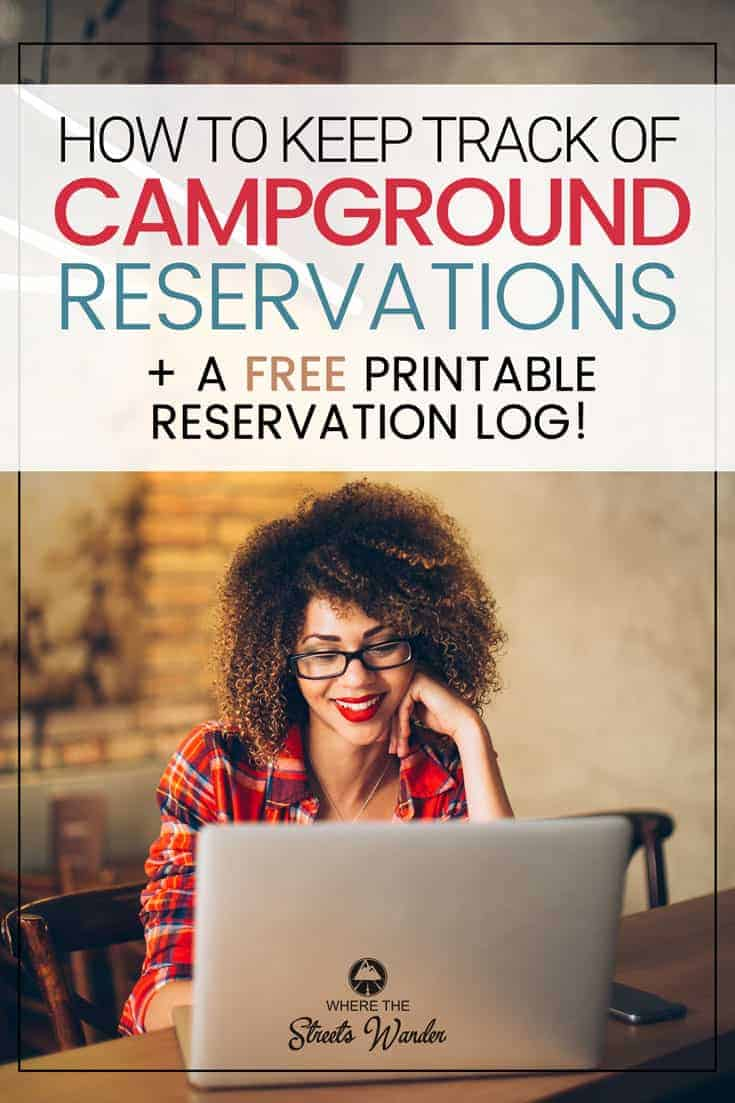 How to Keep Track of Campground Reservations