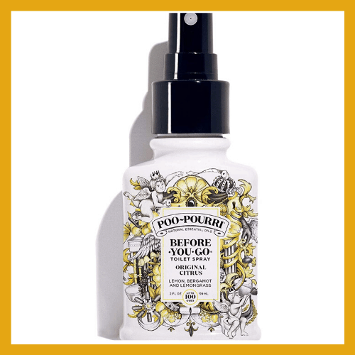 Poo Pourri | Use this for a good smelling RV bathroom! | www.streetswander.com