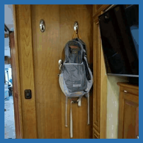 Command Hooks - 10 Must Have Items for Your RV Bedroom | Items for your RV Bedroom that will make you feel more at home! | www.streetswander.com