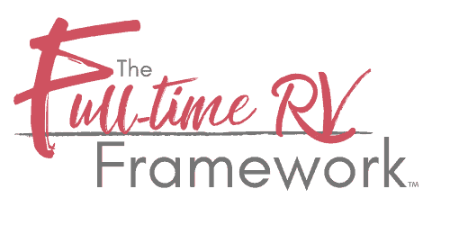 The Full-time RV Framework Logo | Learn to Full-time RV with this amazing program. | www.streetswander.com