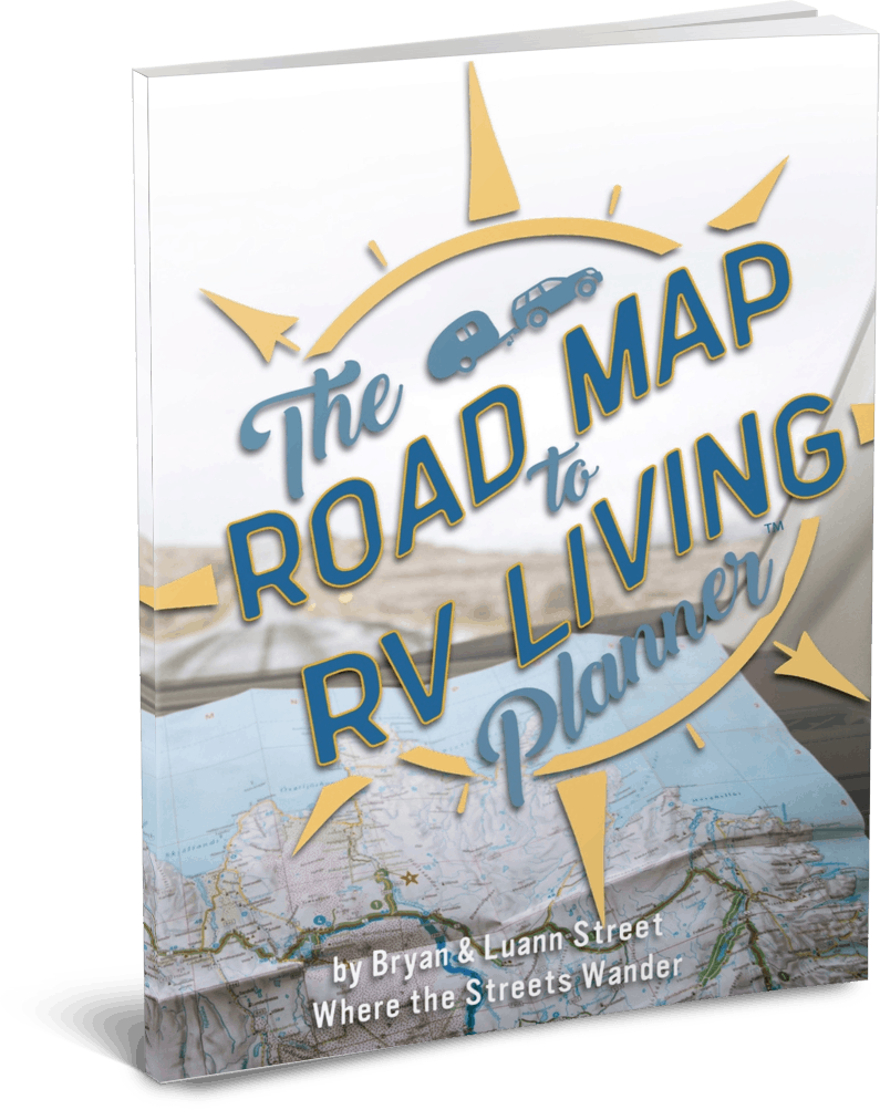 The Full-time RV Framework | Road Map To RV Living Planner | Learn to Full-time RV with this amazing program. | www.streetswander.com