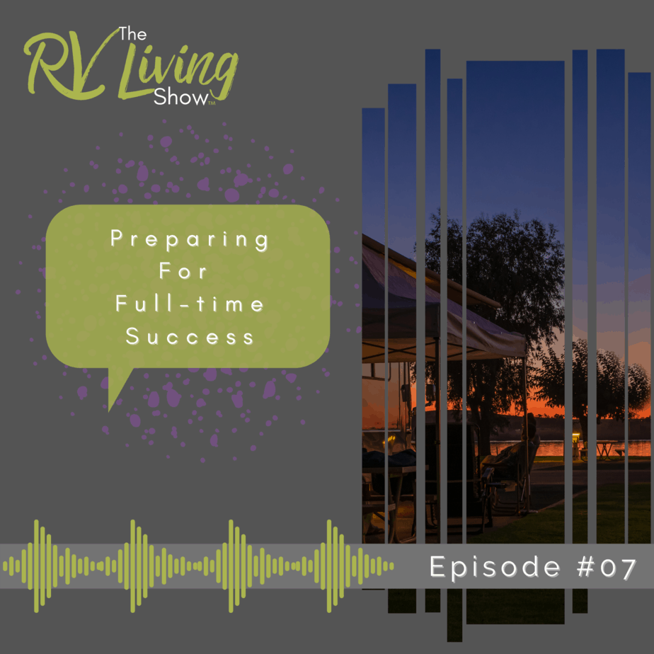 Preparing for Full-time Success Podcast Cover