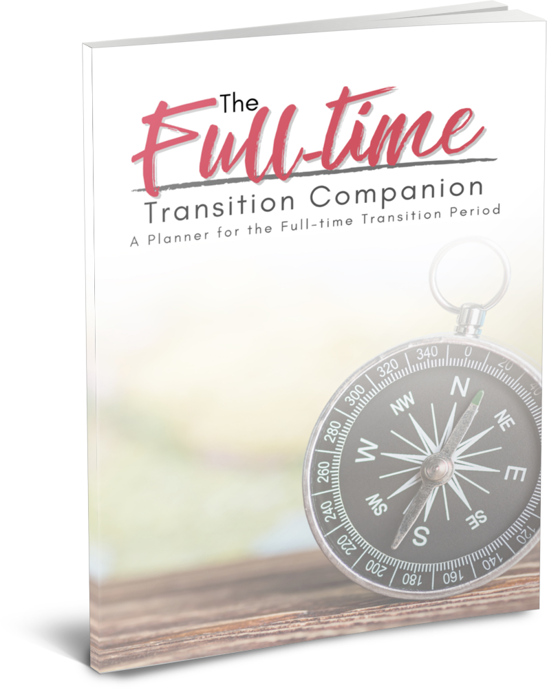 The Full-time Transition Companion Planner