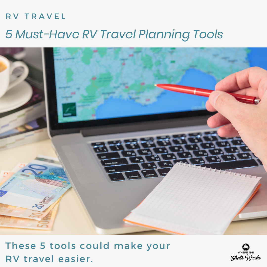RV Travel planning